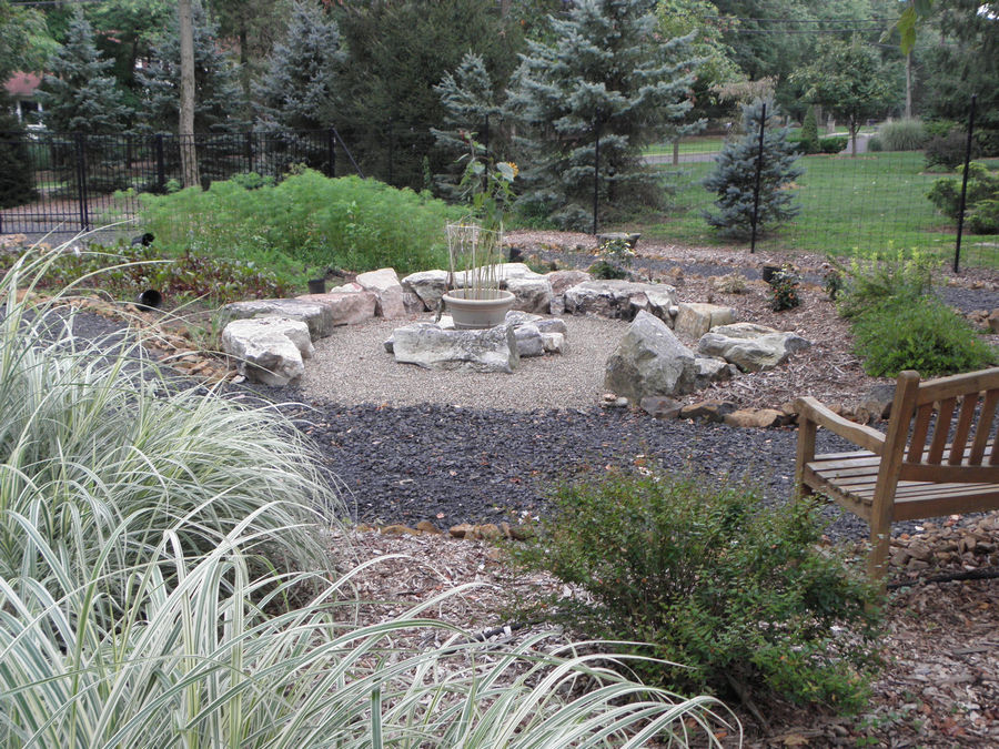 Circular Outdoor seating area – Bridgewater – NJ