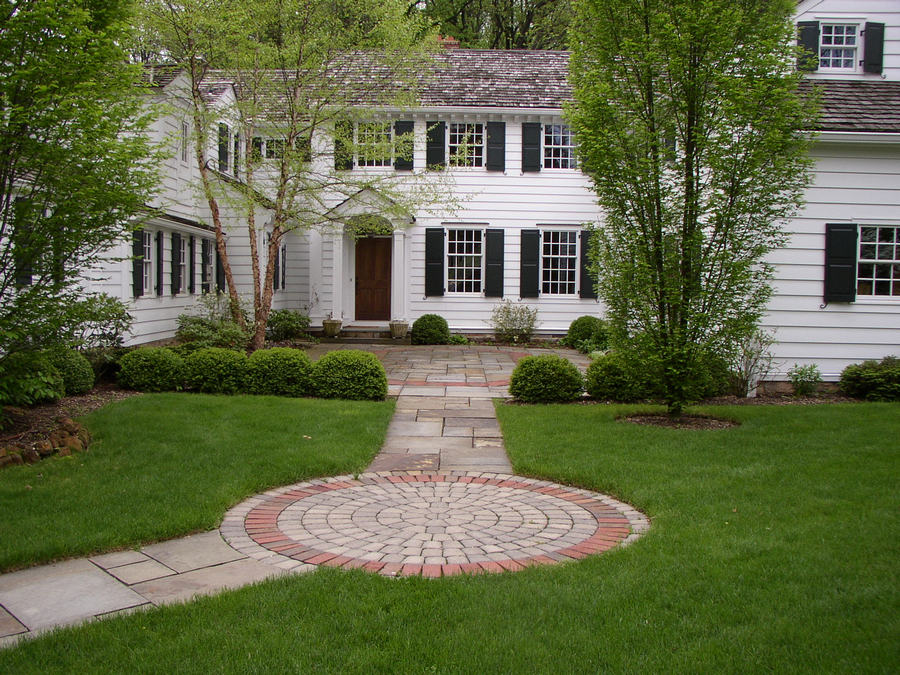 Courtyard entrance – Harding Township – NJ