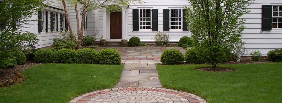 Courtyard entrance - Harding Township - NJ