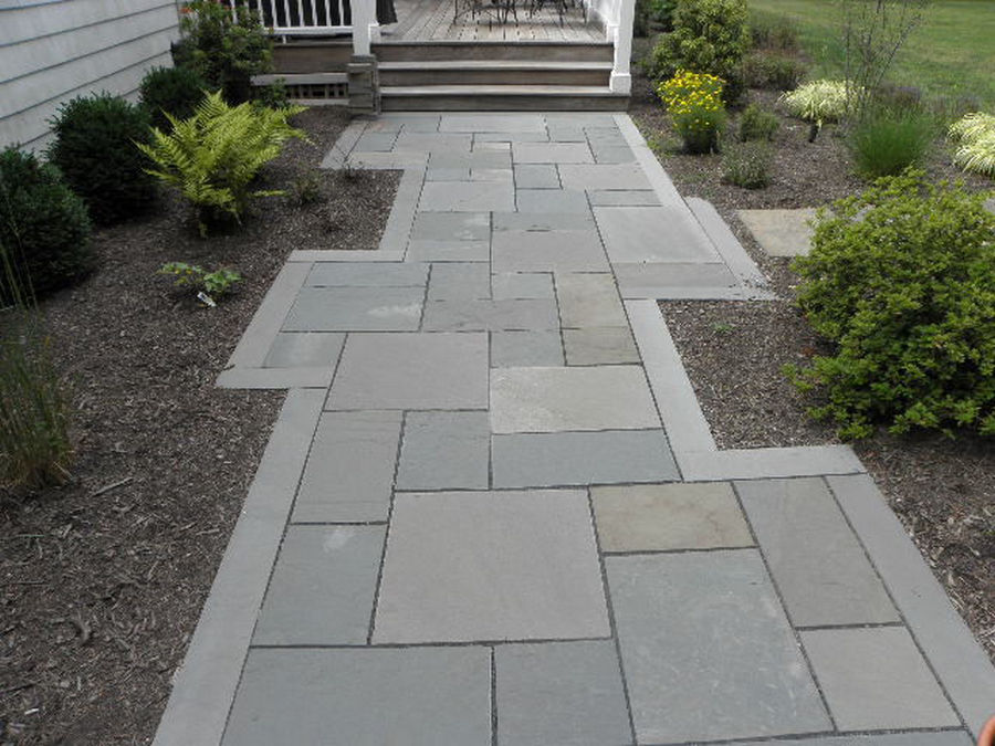 Custom Bluestone Walk – Martinsville – NJ