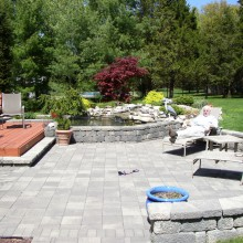 Outdoor Living Space – Pond – Patio – Bridgewater – NJ