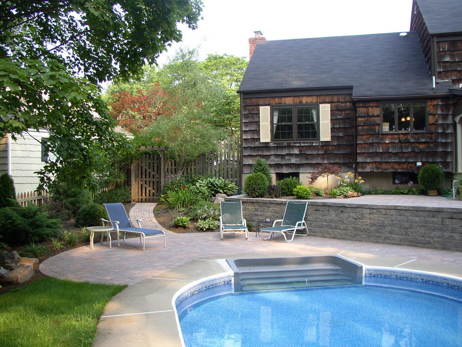 Outdoor Living Space – Pool area – Somerset County – NJ