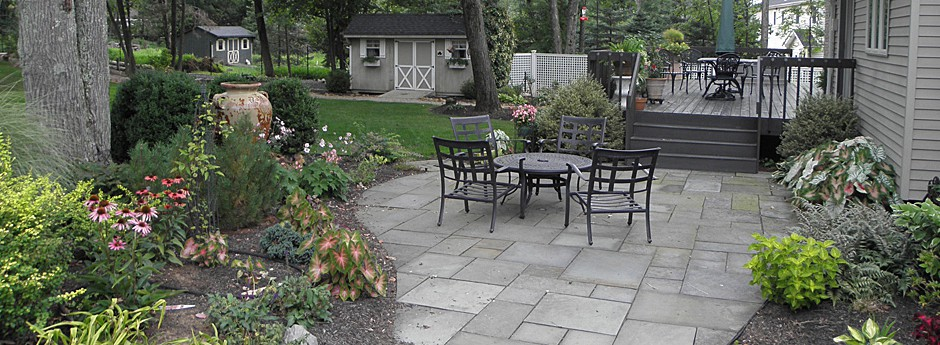 Outdoor garden patio - Bridgewater - NJ