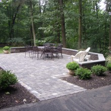 Patio and Seating Wall – Warren – NJ
