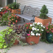 Patio seating area – Piscataway – NJ