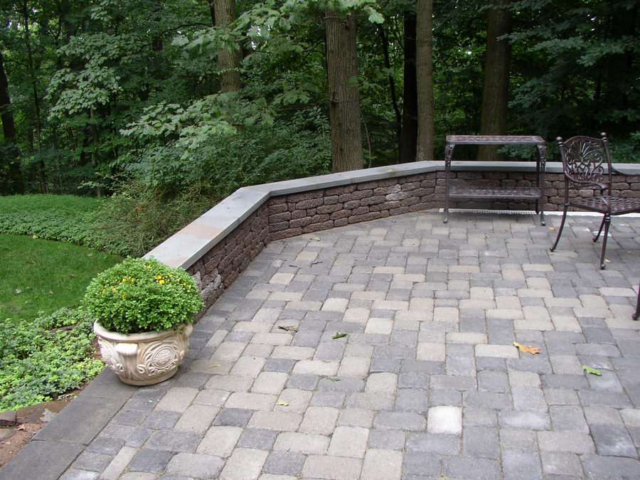 Seating Wall – Patio – Warren – NJ